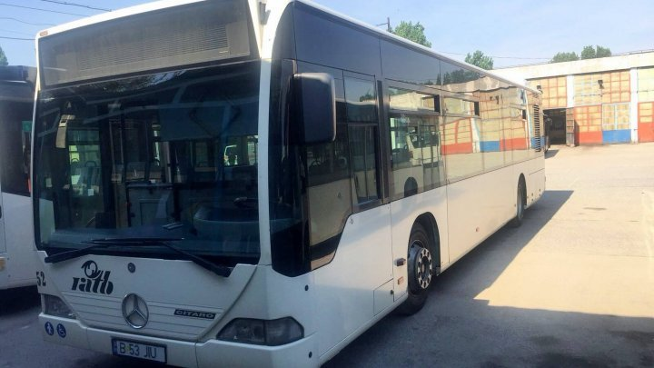 New buses donated by Bucharest City Hall to reach Chisinau