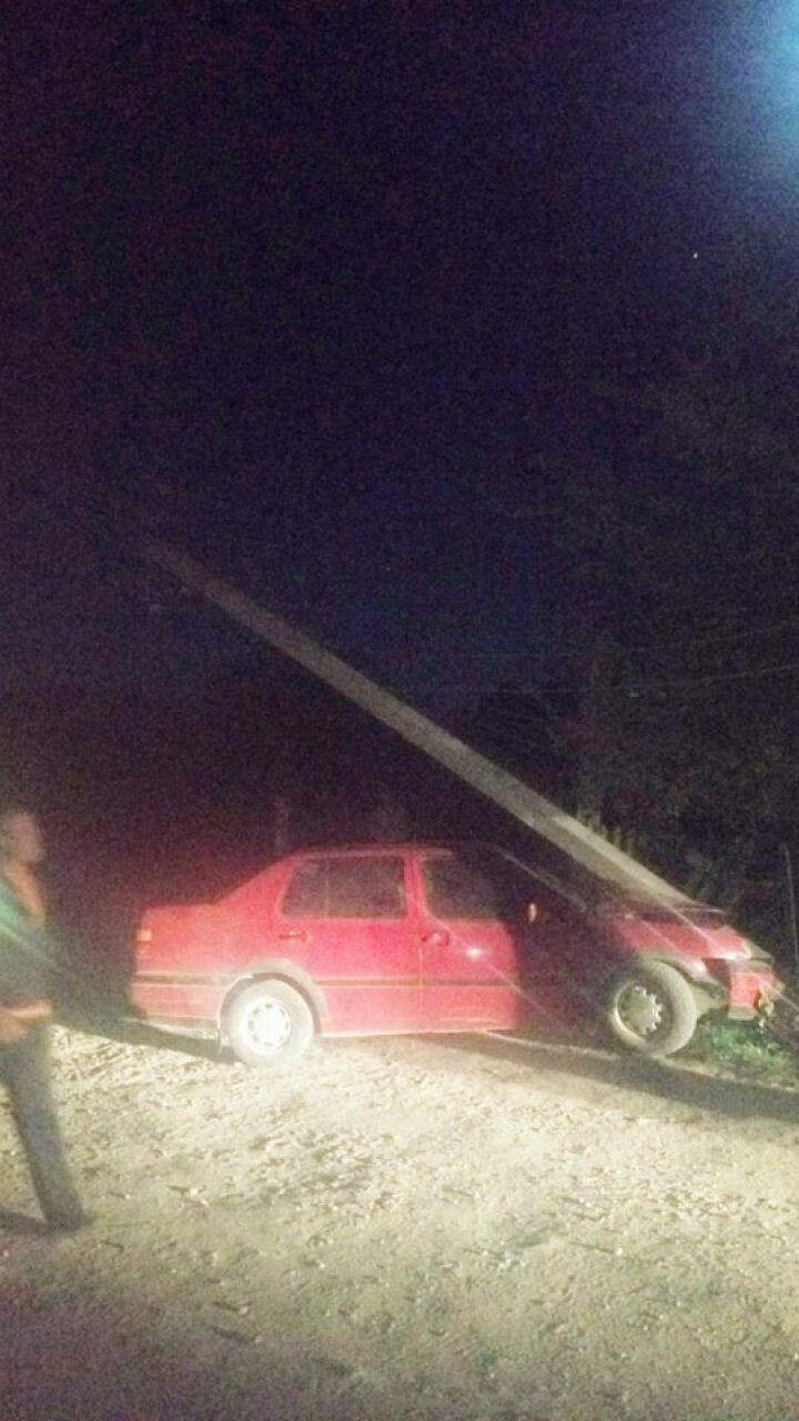 Drunk driver causes entire village without electricity