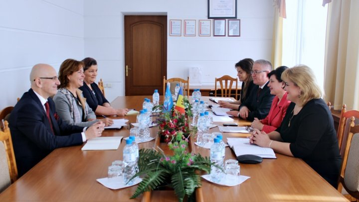 WHO's Regional Office for Europe pledges support for Moldova's health system reforms