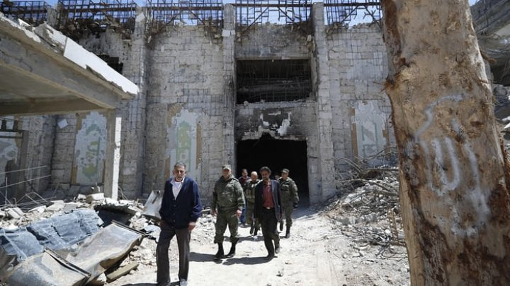 Chemical weapons experts allowed to investigate in Douma, Russia says