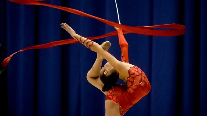 International gymnastics athletes gather in Chisinau for tournament
