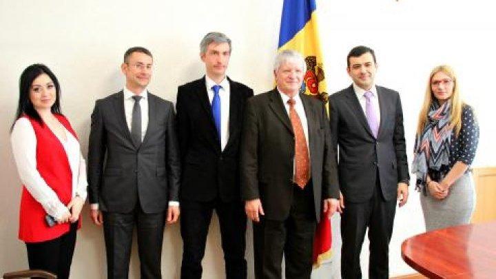Economy Minister Chiril Gaburici met with Former German Ambassador to Moldova, Lerke Wolfgang
