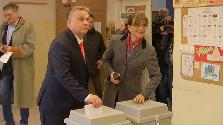 Orban expected to win as millions of Hungarians head to the polls
