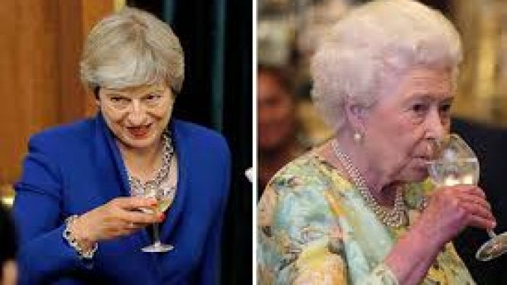 Russia claims British Queen heavy drinker and Premier Theresa May brandy habit