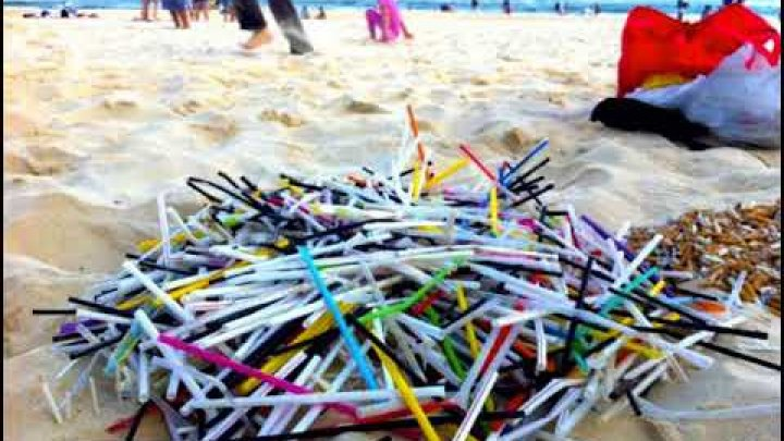 Plastic straws and cotton buds ban tabled in England