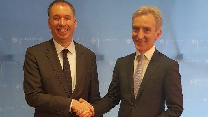 Iurie Leancă: German is Moldova's key partner in European path
