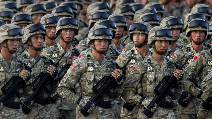 China's military vowed to protect Taiwan as 'territory of motherland'