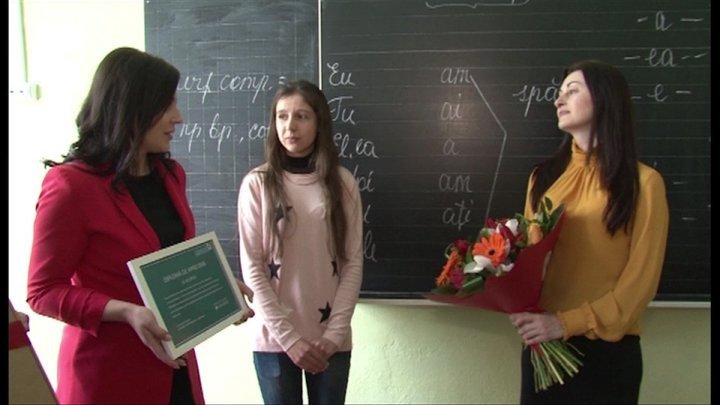 Edelweiss foundation of Vlad Plahotniuc awarded one more teacher
