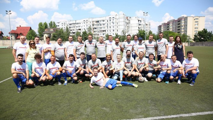 Football organized in Chisinau as solidarity act with HIV-infected people