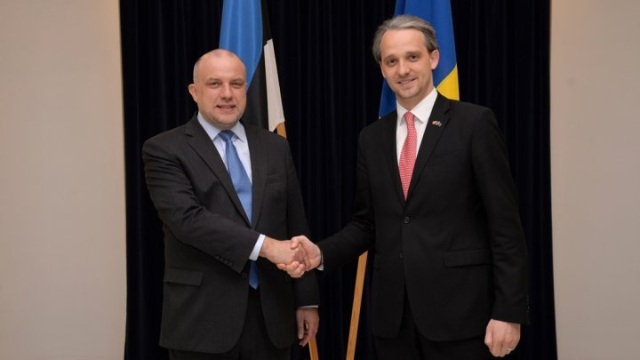 Defense cooperation Moldova - Estonia tabled in Tallinn