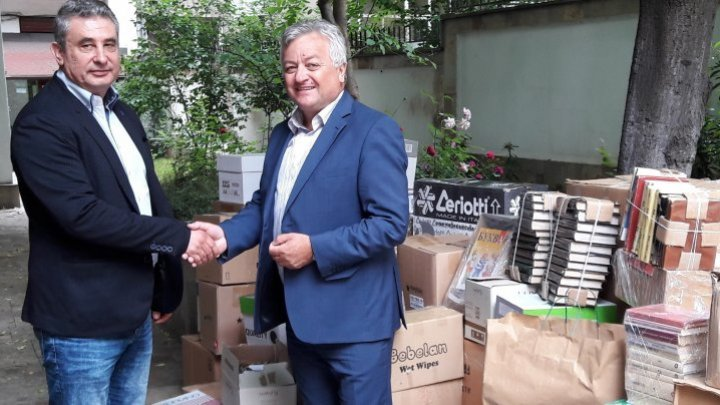 Bilateral campaign on books collection for Bulgarian community in Moldova