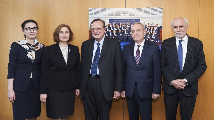 Talks between European Court of Human Rights and Moldovan Justice Minister