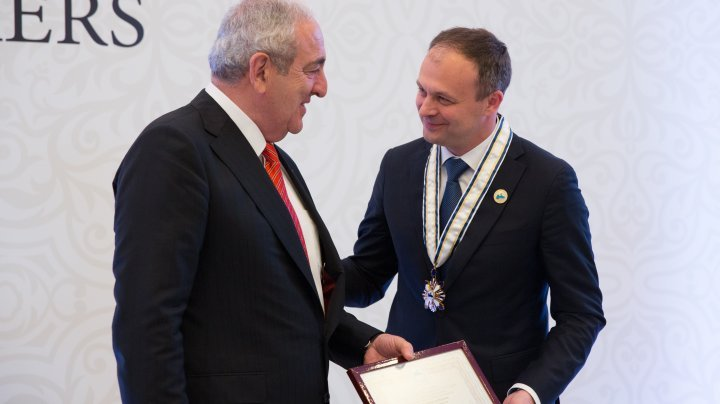Andrian Candu received the medal of honor of Parliamentary Assembly of the Black Sea Economic Cooperation