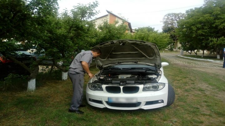 BMW sought by Italian authorities, discovered at Albita Customs, Moldovan at the wheel
