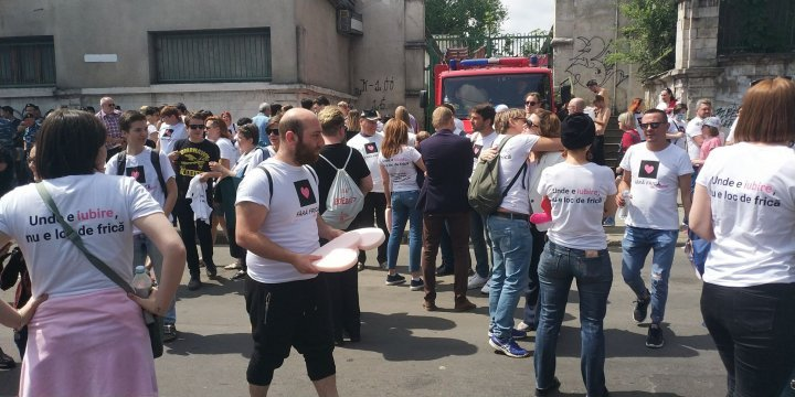 Without Fear campaign rallies in Chisinau (Photos)