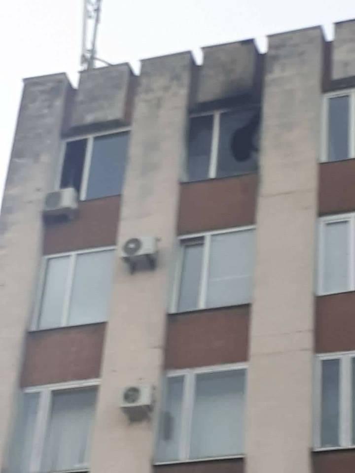 Fire breaks out at Chişinău's Buiucani Court