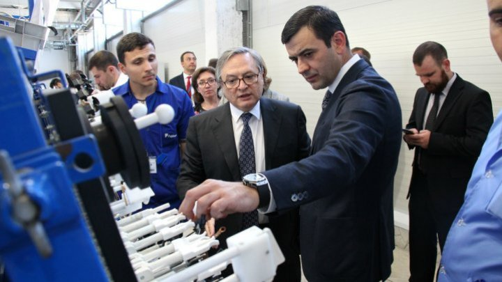 Chiril Gaburici: Government pays special attention to automotive sector and sees great potential in job creation and industrial development of Moldova