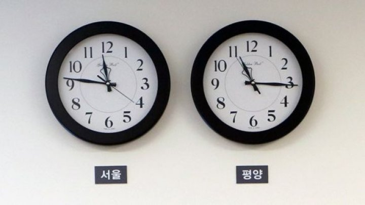 North Korea changes time zone to match the South