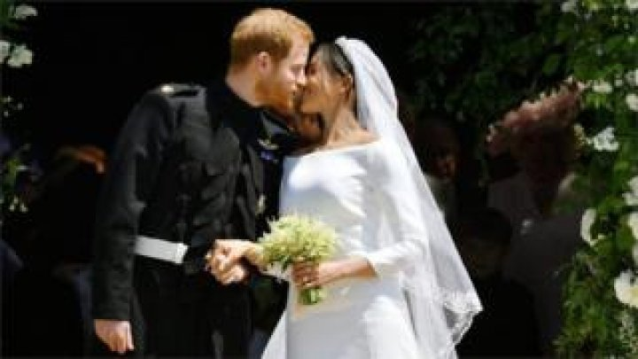 UK royal wedding: Prince Harry and Meghan Markle declared husband and wife