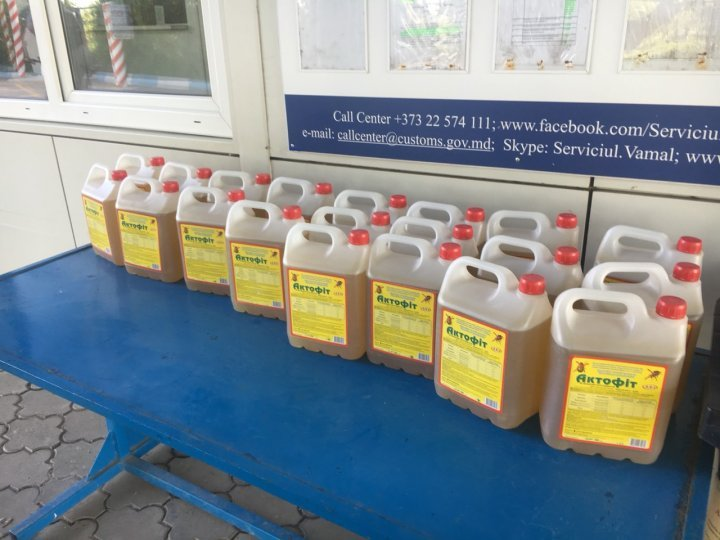 Ukrainian citizen prosecuted for smuggling illegal pesticides in Moldova