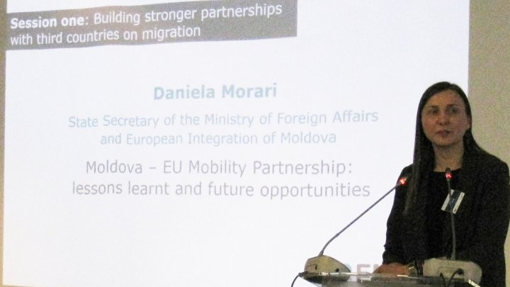 Daniela Morari represented Moldova at Understanding Migration in the European Union: Past, Present and Future conference