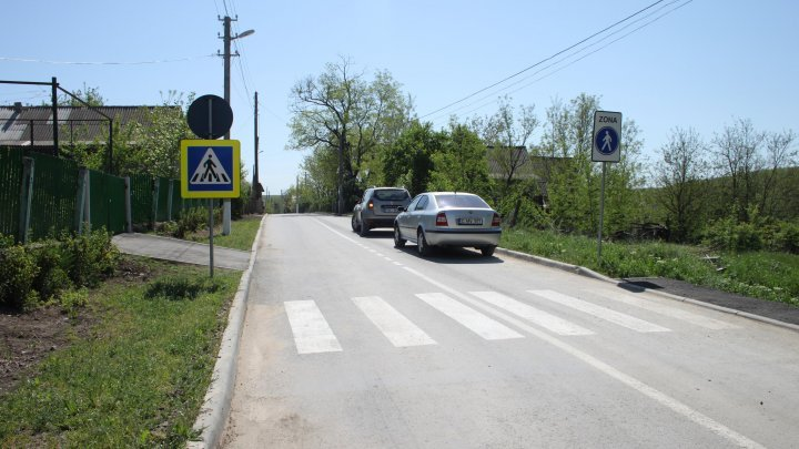 Road connecting Feşteliţa and Marianca de Jos villages renovated