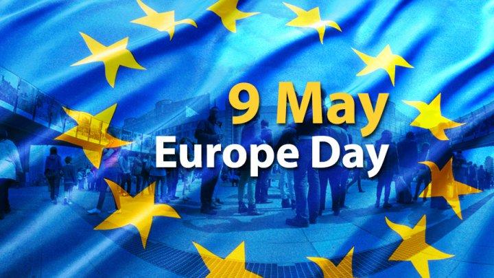 May 9. Moldova celebrates Victory Day and Europe Day