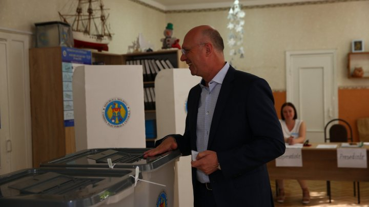 PM Pavel Filip: I voted for Mayor who works for citizens and not use election as trampoline