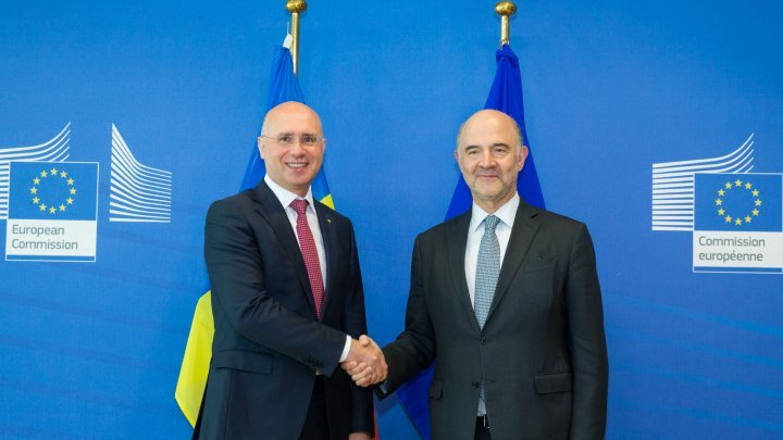 Reforms and cooperation with EU in economic field, analyzed by Pavel Filip and Pierre Moscovici