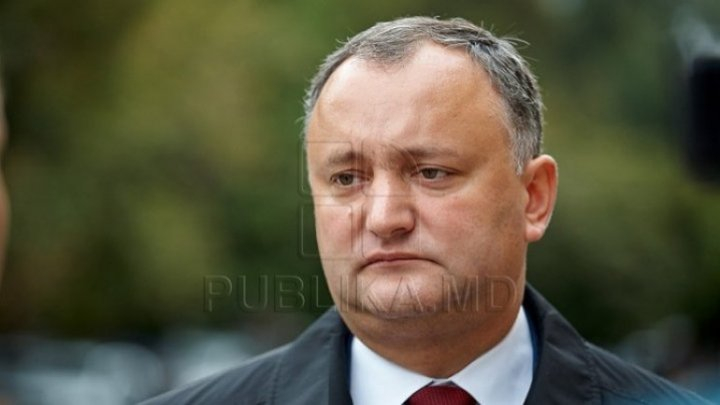 Igor Dodon will promulgate package of laws on voluntary declaration of goods and fiscal stimulus