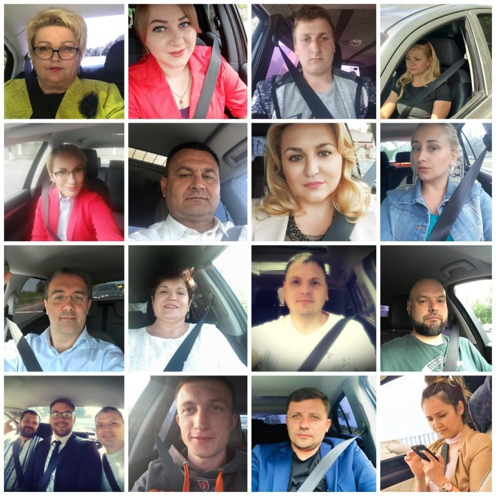 Andrian Candu campaign: Hundreds people with seat belt fastened go viral