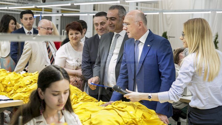 New textile plant in Bălți Industrial Park. Over 700 vacancies and €4m investment