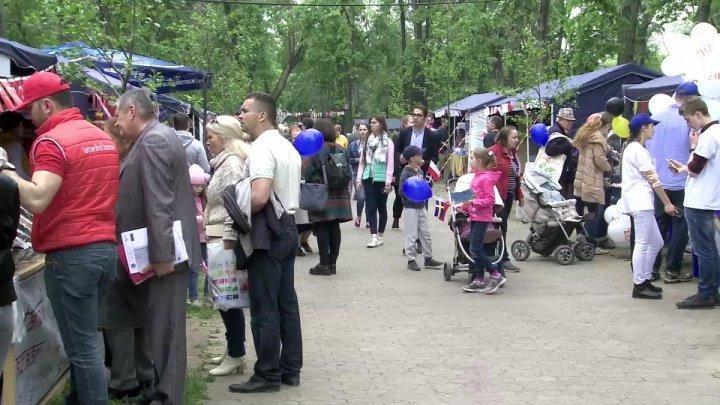 European Town opens in Chisinau Center
