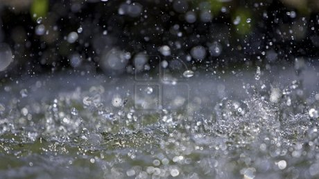 Yellow Warning of rare weather: Rainfall with hail in Şoldăneşti