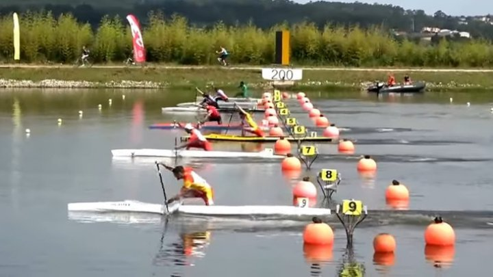 Oleg Tarnovschi won bronze in Canoe Sprint European Championships