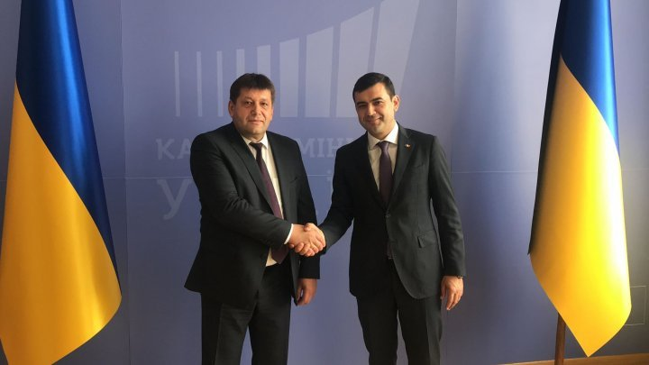 Chiril Gaburici in bilateral meeting with Volodymyr Kistion