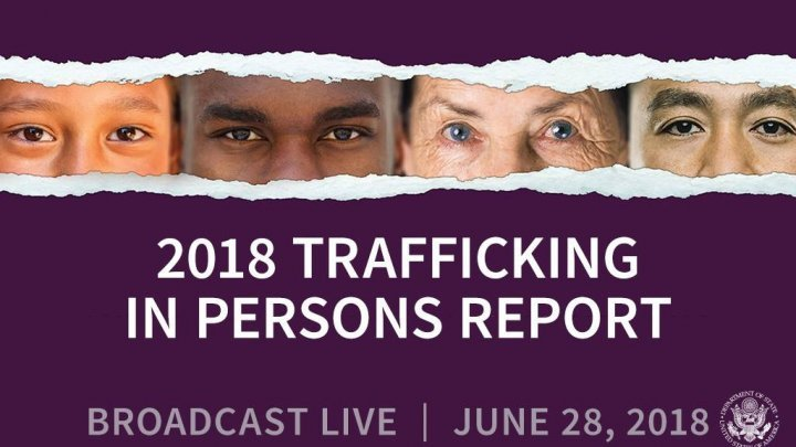 United States realizes Moldova's efforts in fights against human trafficking
