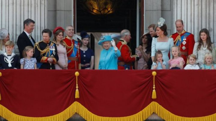 Royals join Queen at Colour parade to mark her 92nd birthday