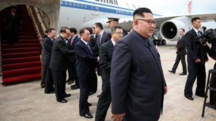 N Korea - US leaders summit: Kim Jong-un arrives in Singapore