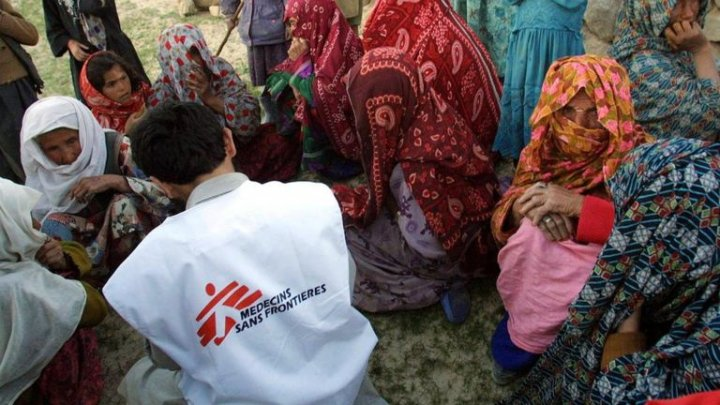 Aid workers at Medecins Sans Frontieres staff 'used local prostitutes' while working in Africa