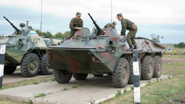 Tiraspol's reaction on the armored vehicles seen on Râbniţa-Tiraspol highway