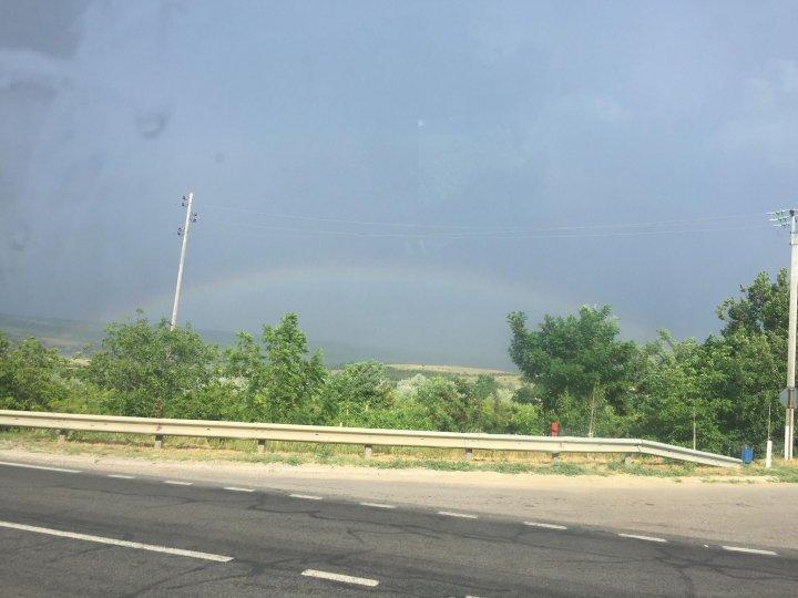 Yellow Warning of rare weather: Rainfall with hail in Şoldăneşti