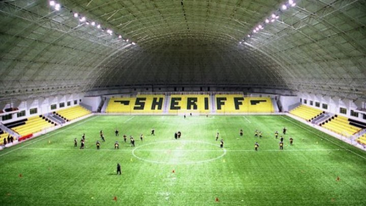 Who will Sheriff Tiraspol play against within the Champions league?