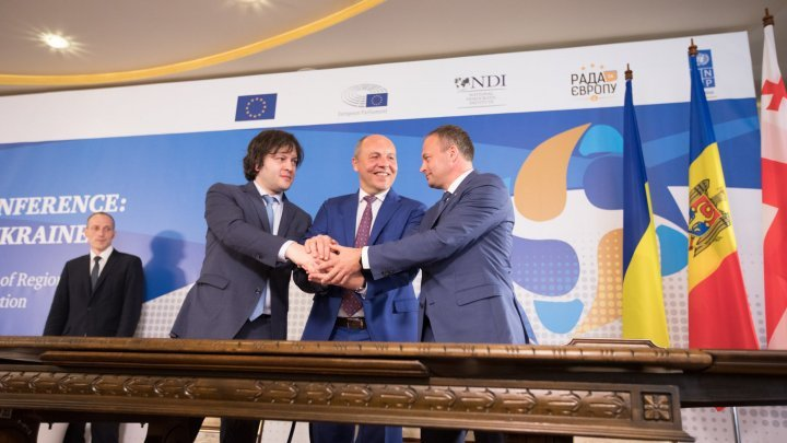 Parliamentary Assembly of Moldova, Georgia and Ukraine created in Kiev high level Conference