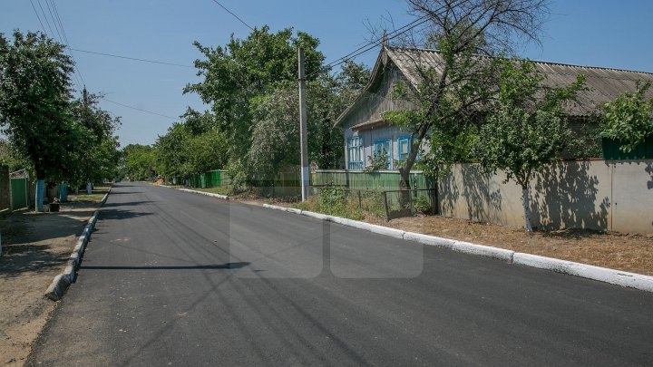 Good Roads for Moldova: Main roads repaired in 13 villages from Cimişlia