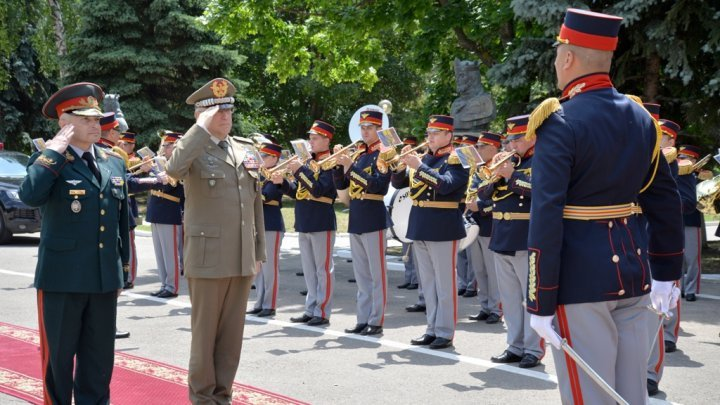 Italian Defense Staff Chief, for first time, in Republic of Moldova