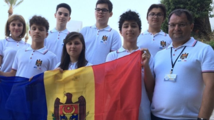 Moldovan students won a silver medal and three bronze medals at Balkan Youth Mathematics Olympics