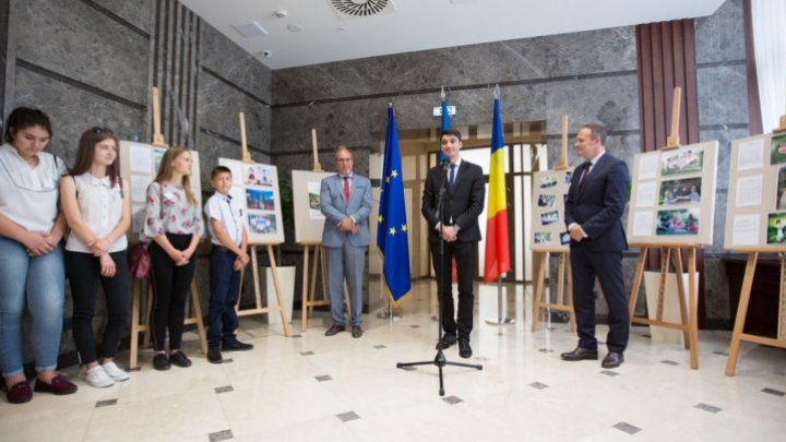 38 pupils from Moldova, passionate about photography, awarded by Andrian Candu