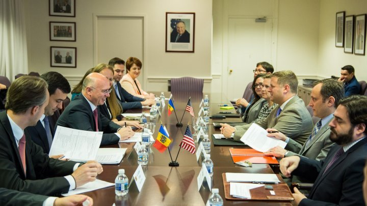 Business opportunities in the Republic of Moldova, examined by Pavel Filip and Deputy Assistant Secretary at the U.S. Department of Commerce