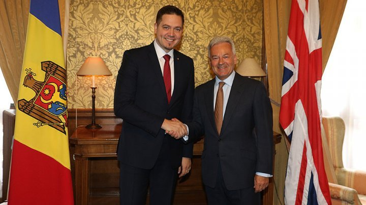 Tudor Ulianovschi discussed bilateral relations with the UK in London